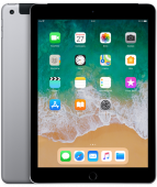 "Apple iPad 9.7"" (2018) Wi-Fi+Cellular 128ГБ (Серый космос) MR722RU/A"