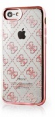 Чехол Guess для iPhone 7 4G Transparent Hard TPU Rose gold (GUHCP7TR4GRG)