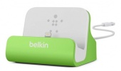 Докстанция Belkin Charge + Sync Dock для iPhone 5/iPhone 5S, зеленый (F8J045btGRN)