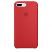 Силиконовый чехол Apple Silicone Case для iPhone 8 Plus/7 Plus, (PRODUCT)RED - MQH12ZM/A