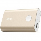 Внешний аккумулятор Anker PowerCore+ 10050 mAh Quick Charge 3.0, Gold  (A1311HB1)