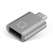 Адаптер Nonda Mini Adapter USB-C to USB 3.0. Цвет: серый космос (MI22SGRN)