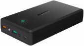 Внешний аккумулятор Aukey 30000 mAh, Quick Charge 3.0, Micro USB и Apple Lightning входы (PB-T11)